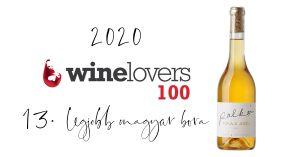 winelovers 100 | Palkó Borok Tokaji Aszú